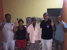 José Cirilo,Bombinha e família
