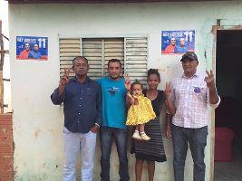 Leal, Marilene e família