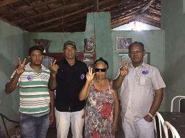 Maria Iracir (Pilicha) e família