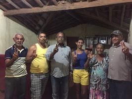 Isaura e família