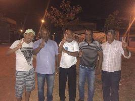 Deonisio, Genival e família -Brasília