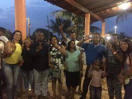 Maria Helena, Eliene,Adilson e família-Brasília