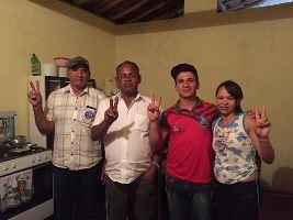 Luciano, Mariza e família-Barreiro