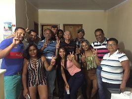 João Neto e família.-Brasília