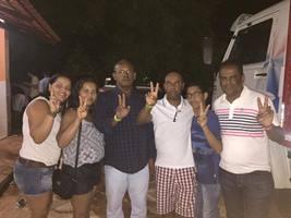 Antônio de Aroeiras e família -Brasília