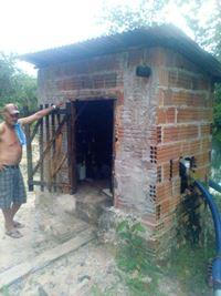 Casas dos poços artesianos necessitam de reparos